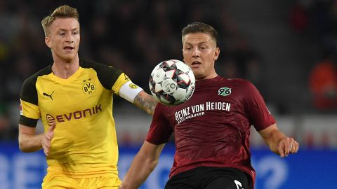 Hannover hold Dortmund to draw