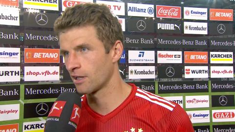 Watch: Müller believes Goretzka has a big future