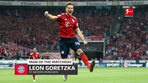 Leon Goretzka: MD2's Man of the Matchday