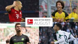 Watch: Bundesliga Goal of the Month - August