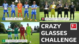 Watch: SVW, SGE & BSC's Crazy Glasses Challenge!