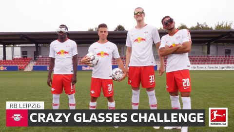 Watch: Leipzig do the Crazy Glasses Challenge!