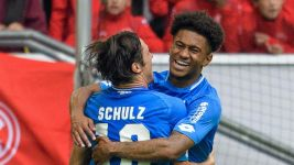 Reiss Nelson scores on Hoffenheim debut