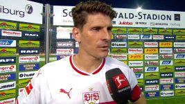 "Watch: Mario Gomez adjusting to ""old age"""