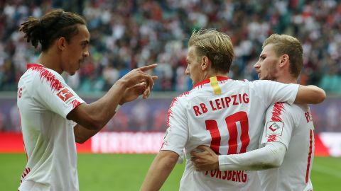 Watch: RB Leipzig 3-2 Hannover