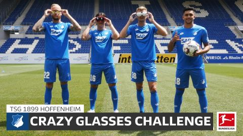 Watch: Hoffenheim do the Crazy Glasses Challenge!
