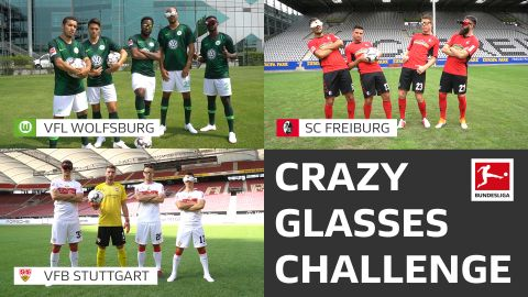 Watch: WOB, SCF & VfB's Crazy Glasses Challenge!