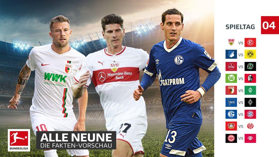 4 Spieltag Bundesliga
