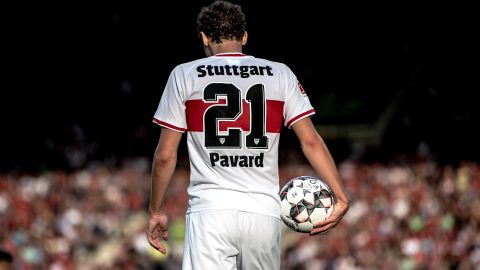 World Cup hero Pavard stayed for love of Stuttgart