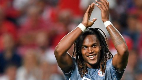 Sanches' weight-lifting performance