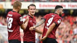Nuremberg up to ninth with Hannover win