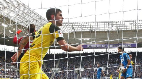 Pulisic snatches a point for Dortmund