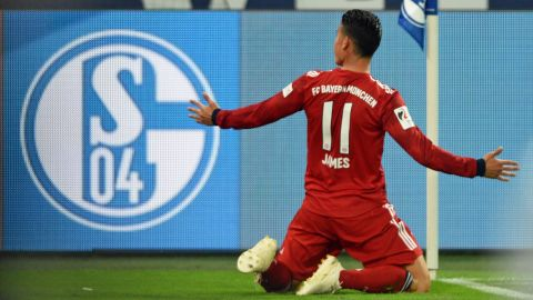 James and Lewy send Bayern to win