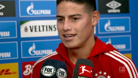 Watch: James wants Bayern to maintain high level