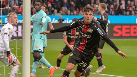 Havertz heads Leverkusen to win