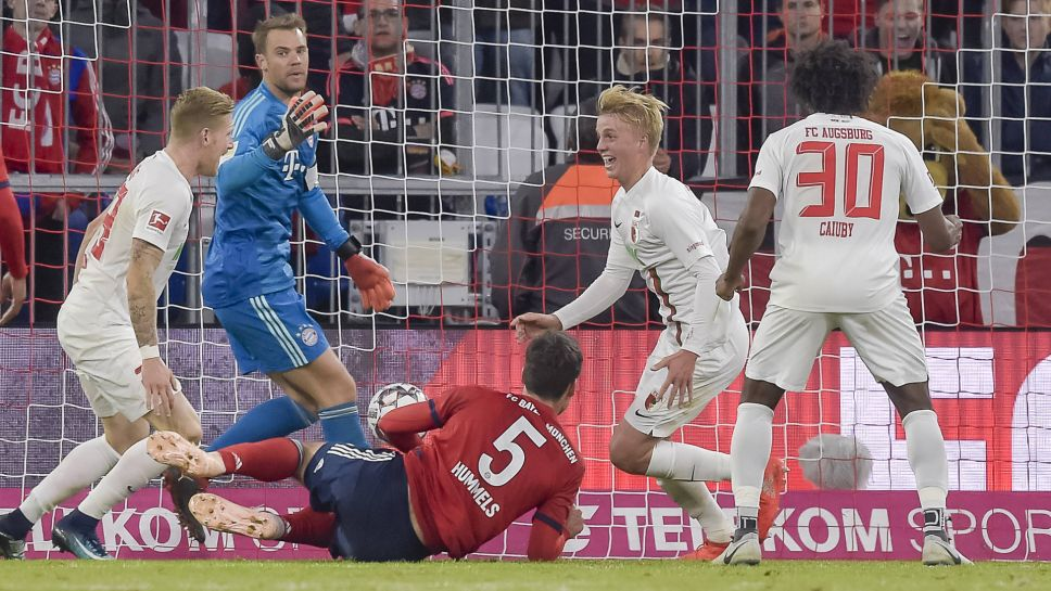 Felix Götze came back to haunt Bayern Munich - his former club - by earning Augsburg a late point at the Allianz Arena.