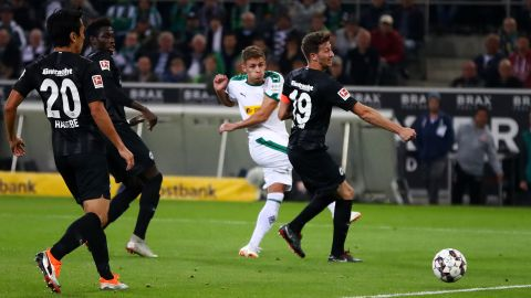 Watch: Gladbach 3-1 Frankfurt