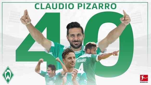 Bundesliga Happy Birthday Claudio Pizarro Die