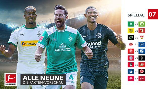 7. Spieltag Bundesliga