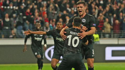 Frankfurt breeze past Lazio