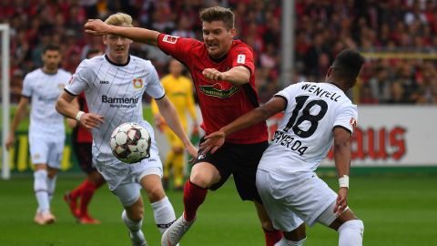 Freiburg and Leverkusen share spoils