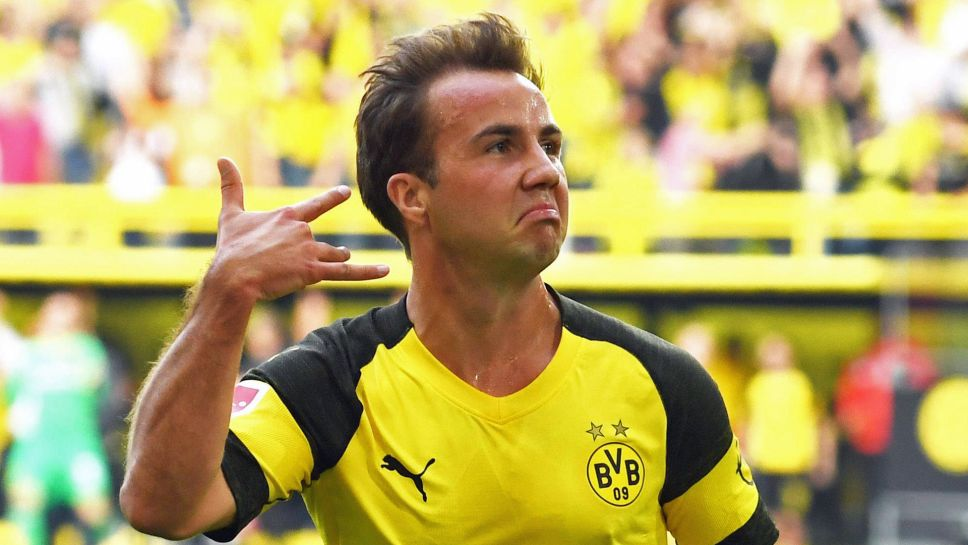 Bundesliga | Returning Mario Götze back among the goals for Bundesliga  leaders Borussia Dortmund
