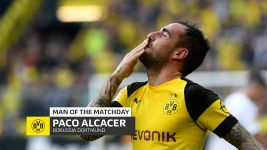 Paco Alcacer: MD7's Man of the Matchday