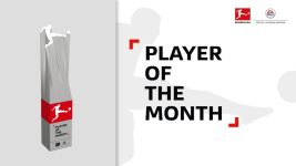 "Fans and experts choose the ""Player of the Month"""