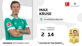 Player of the Month candidate: Max Kruse