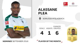 Player of the Month candidate: Alassane Plea