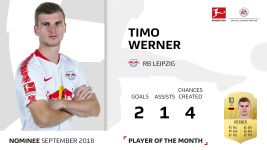 Player of the Month candidate: Timo Werner