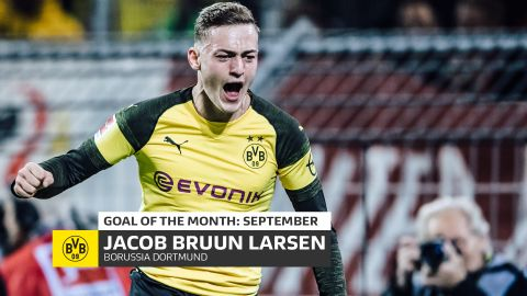Watch: Bruun Larsen's September Goal of the Month