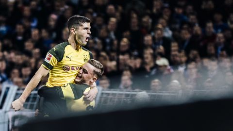 Watch: Pulisic's Top 3 goals for Dortmund