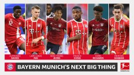 Davies, Richards & Bayern's future stars