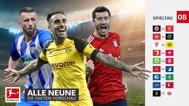 8 Spieltag Bundesliga