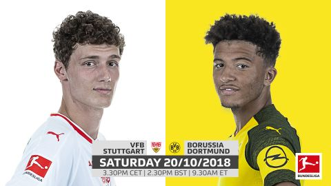 Stuttgart vs. Dortmund: team news