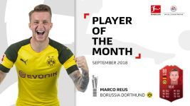 Watch: Reus named September Player of the Month