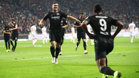 Jovic hits five as Frankfurt run riot