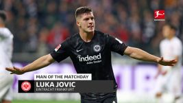 Luka Jovic: MD8's Man of the Matchday