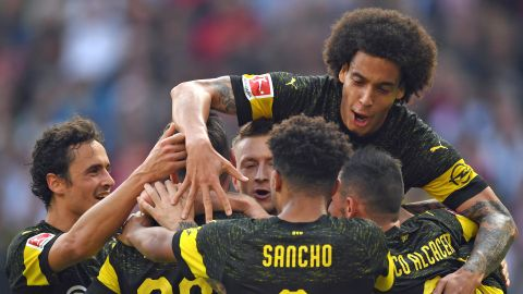 Dortmund go three clear at the top