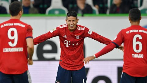"James Rodriguez: ""Bayern's bad patch is over"""