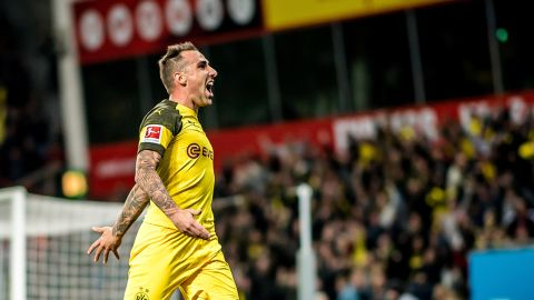 Watch: All of Paco Alcacer's goals for Dortmund