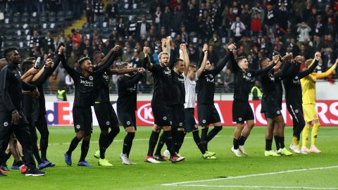 Eintracht Frankfurt: Europe's form team