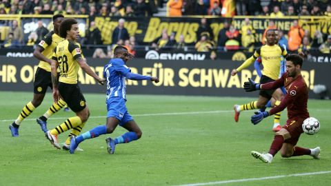 Berlin holt Remis in Dortmund