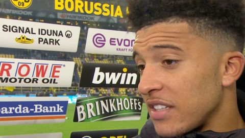Watch: Sancho on Dortmund's title credentials