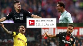 Watch: Bundesliga Goal of the Month - October