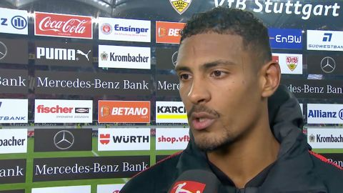 Watch: Haller brimming with confidence