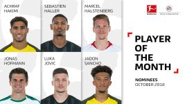 Vote for your October Player of the Month!