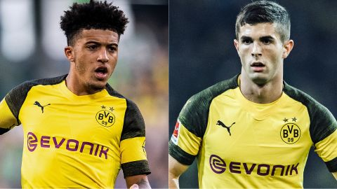 Jadon Sancho to face Christian Pulisic?