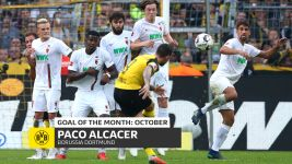 Watch: Alcacer's October Goal of the Month